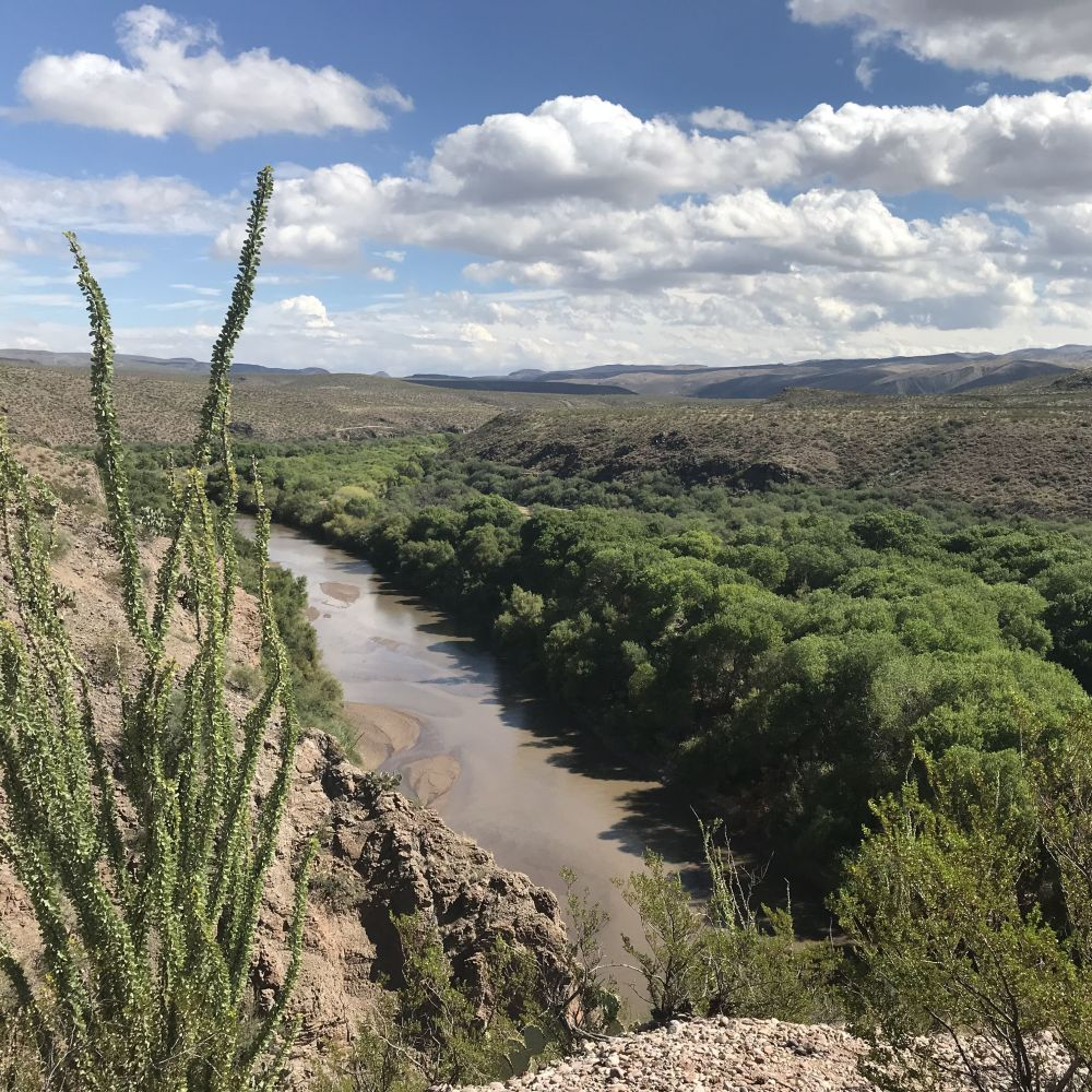 Gila River Restoration. Riverside Stories Hero