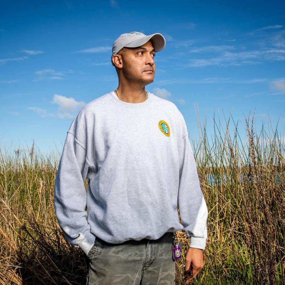 Coastal Restoration. Charles Allen III wetlands