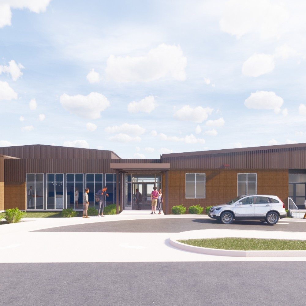 Future School of Fort Smith. FIF funding. Building photo