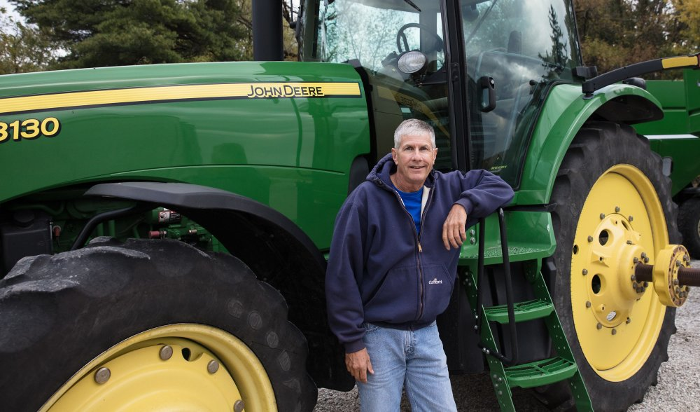 Tim Smith Tractor Roots of Conservation