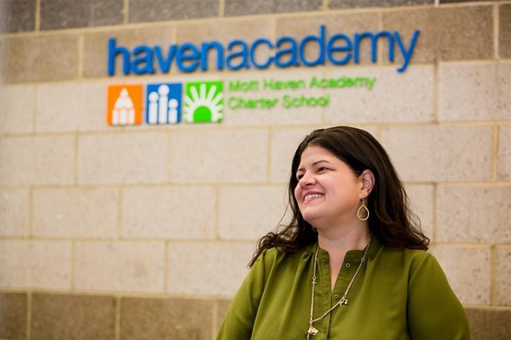Mott Haven Academy Charter School. Jessica Nauiokas Head of School & Founder