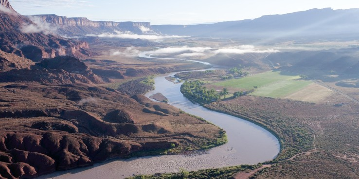 Colorado River Water in the West Grand Junction landscape