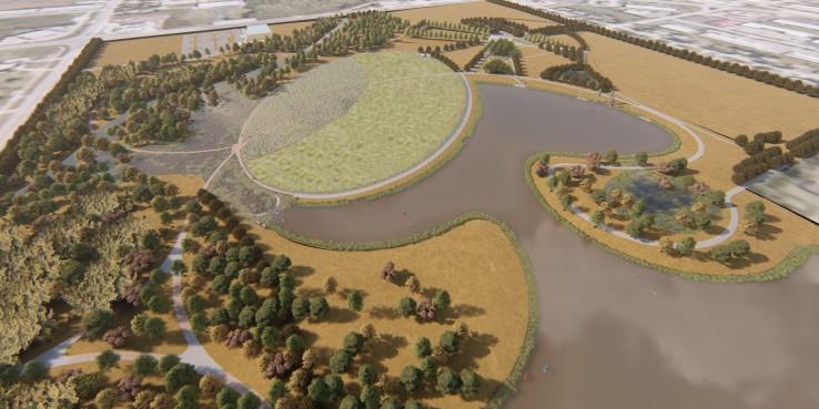 Osage Park Aerial