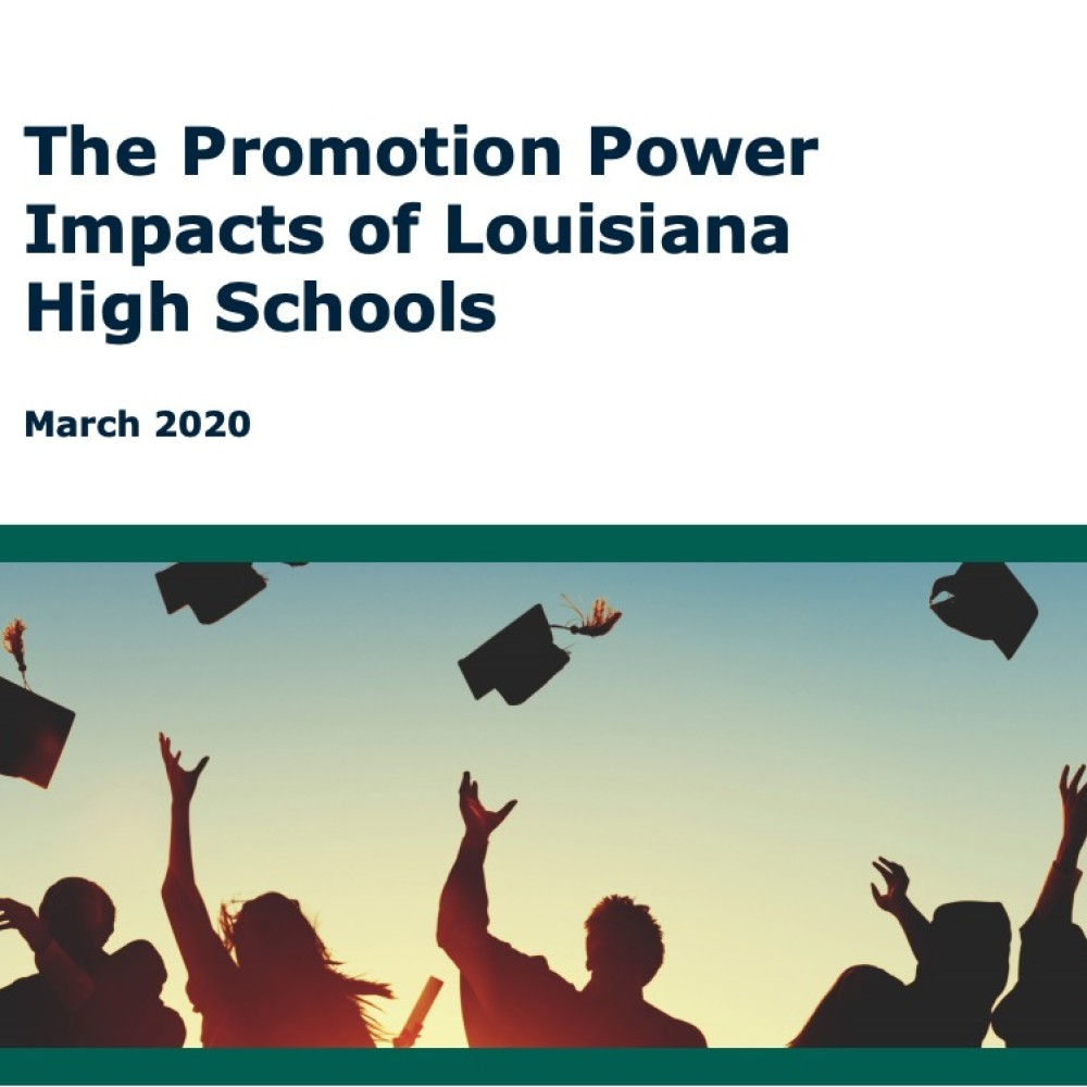 Promotion Power of Louisiana Schools Research Cover