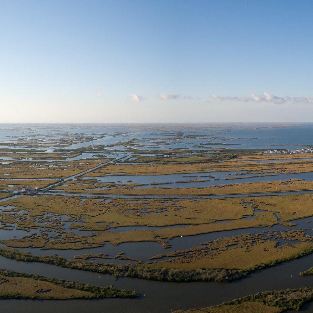 Gulf Coast aerial
