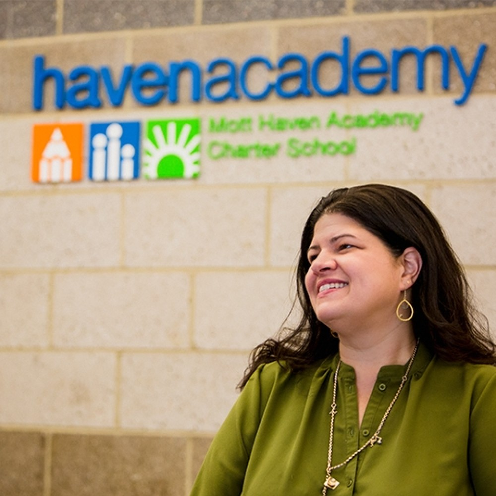 Mott Haven Academy Charter School. Jessica Nauiokas