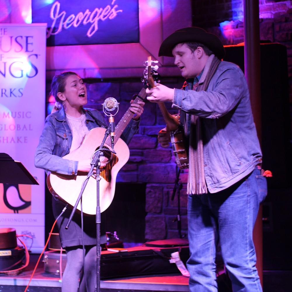 House of Songs. Ashtyn Barbaree and Willi Carlisle